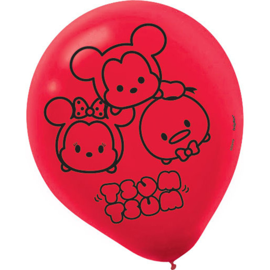 """View larger image of Tsum Tsum 12"""" Latex Balloons (6 Count)"""
