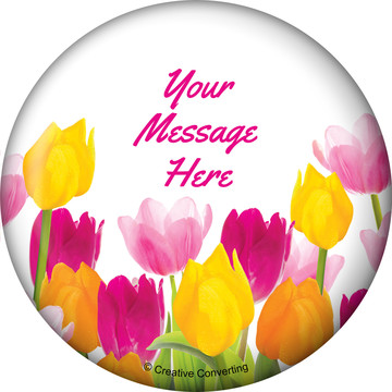 Tulips Personalized Magnet (Each)