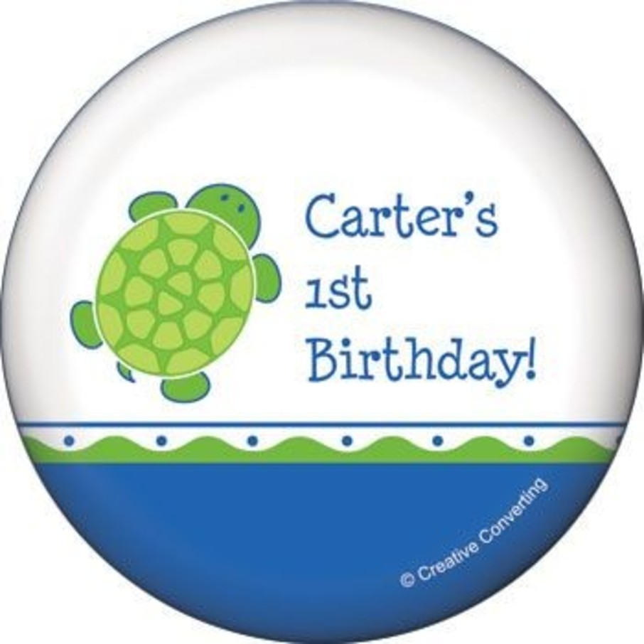 View larger image of Turtle Party Personalized Magnet (each)