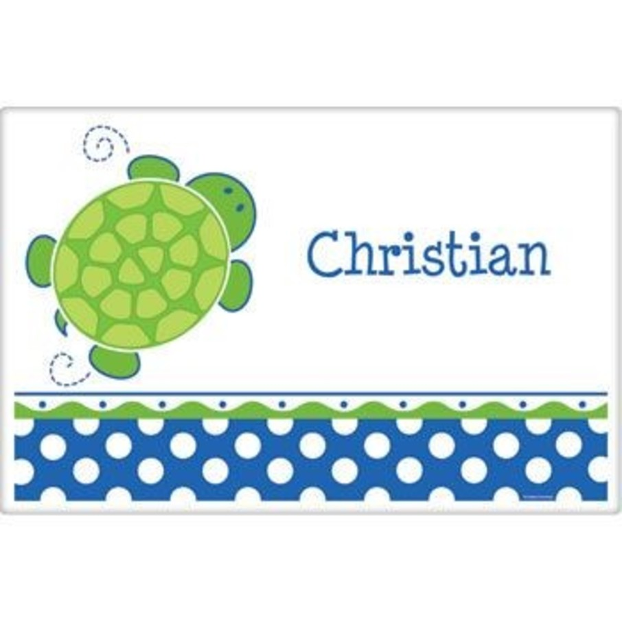 View larger image of Turtle Party Personalized Placemat (each)
