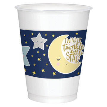 Twinkle Little Star Plastic Cups (25)