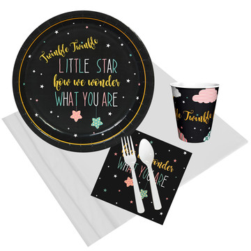 Twinkle Twinkle How We Wonder 8 Guest Party Pack