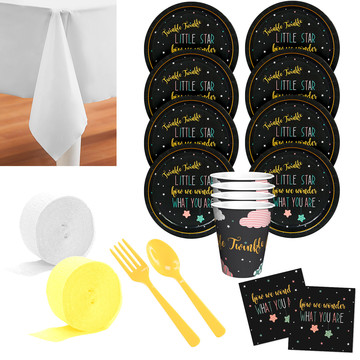 Twinkle Twinkle How We Wonder Deluxe Tableware Kit (Serves 8)