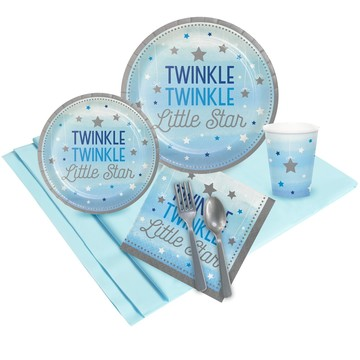 Twinkle Twinkle Little Star Blue Party Pack 24