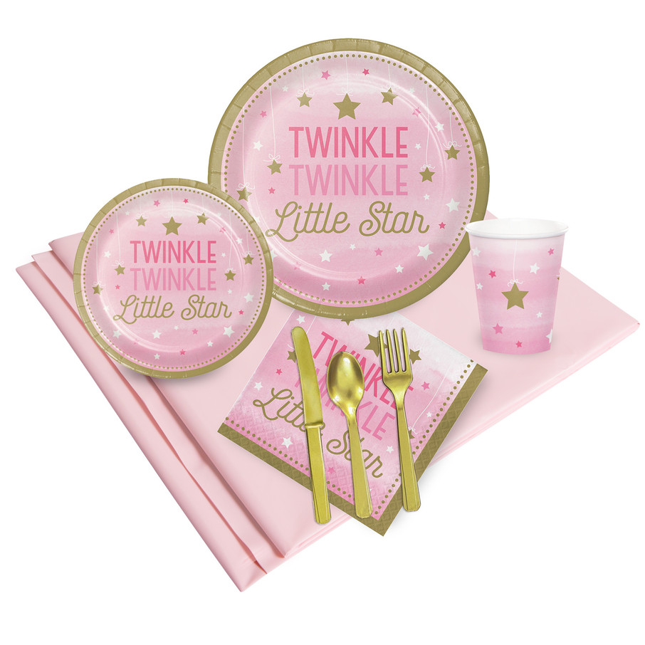 View larger image of Twinkle Twinkle Little Star Pink Party Pack