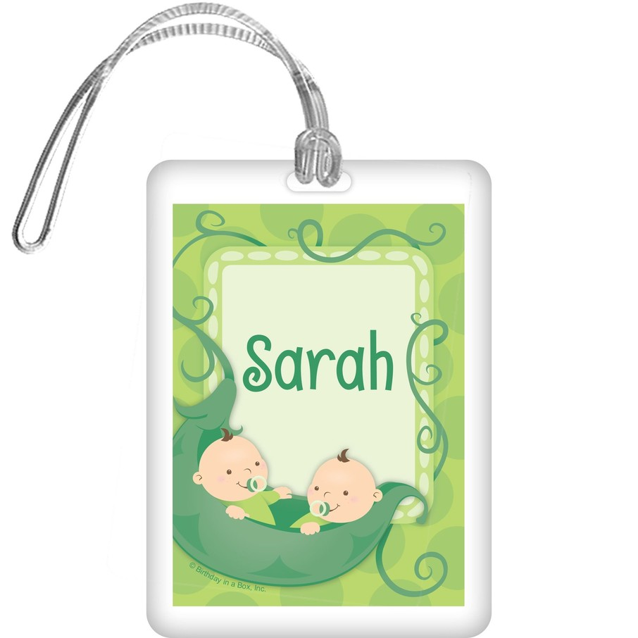 View larger image of Twin's 1st Birthday Personalized Bag Tag (each)