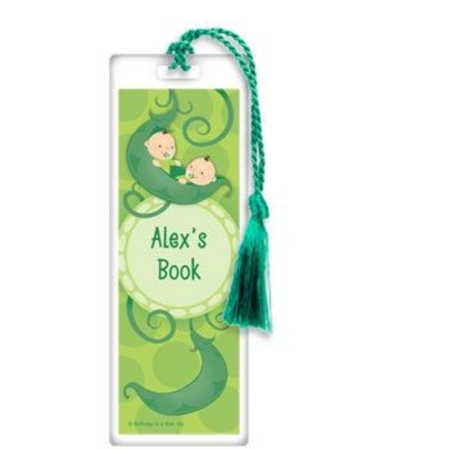 View larger image of Twin's 1st Birthday Personalized Bookmark (each)