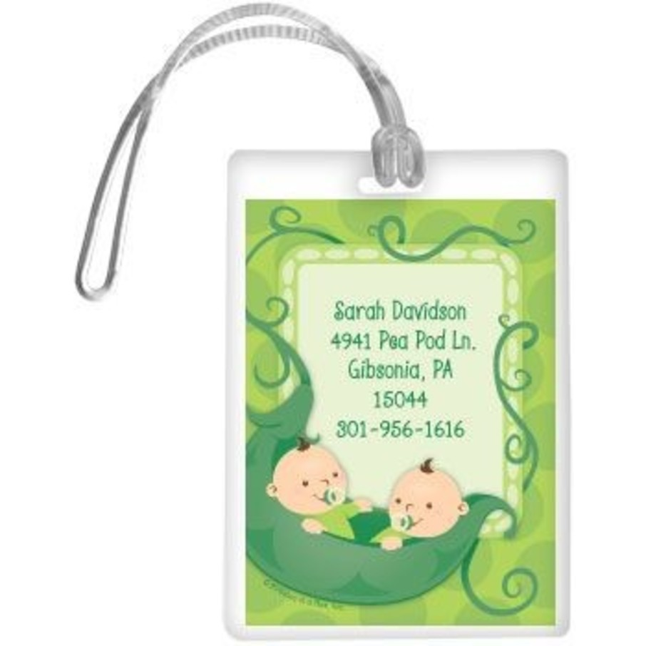 View larger image of Twin's 1st Birthday Personalized Luggage Tag (each)