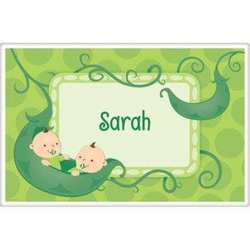 Twin's 1st Birthday Personalized Placemat (each)