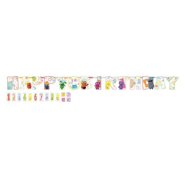 Ugly Dolls Movie Add An Age Jumbo Letter Banner