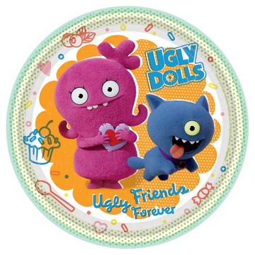 Ugly Dolls Movie Dessert Plates (8)