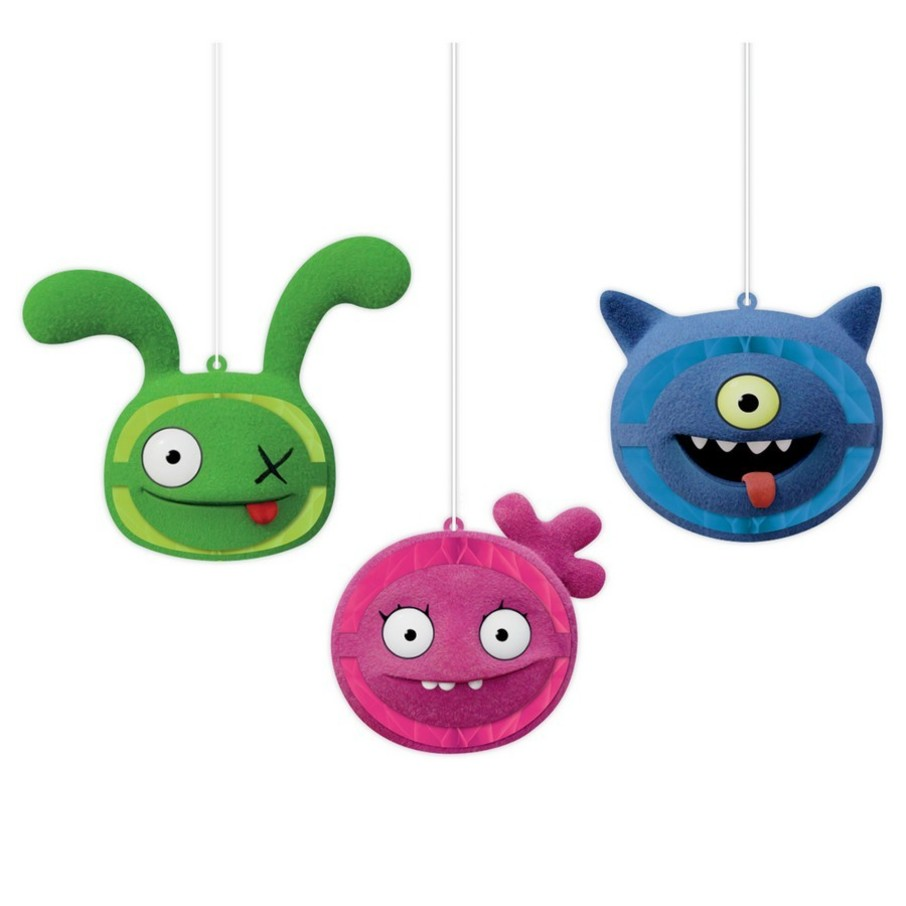 View larger image of Ugly Dolls Movie Honeycomb Hanging Decorations