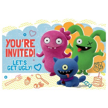 Ugly Dolls Movie Party Postcard Invitations (8)
