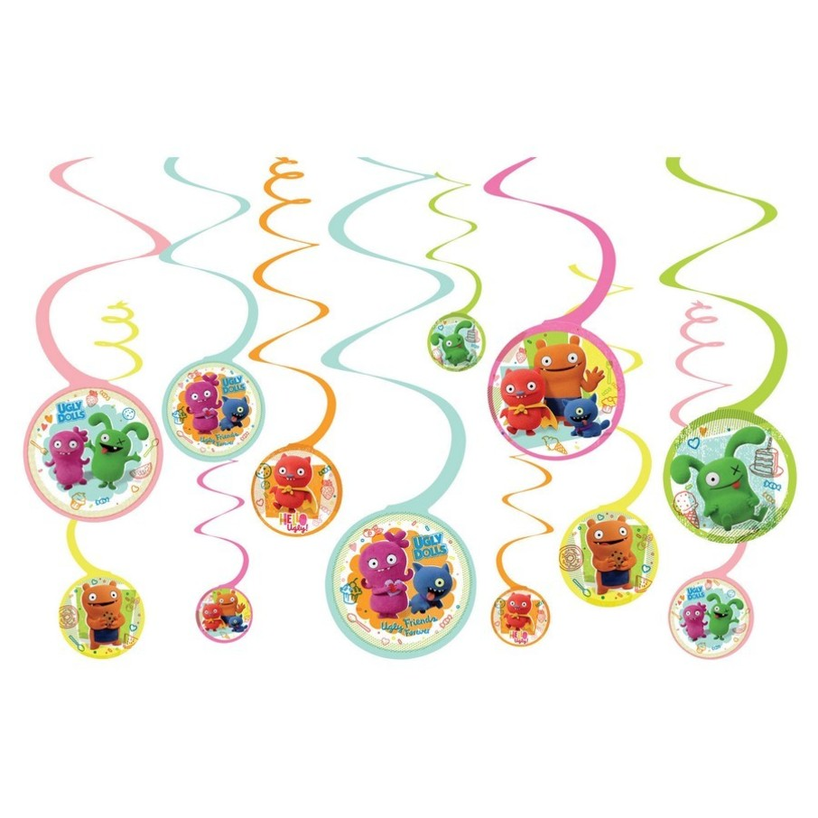 View larger image of Ugly Dolls Movie Spiral Hanging Decorations