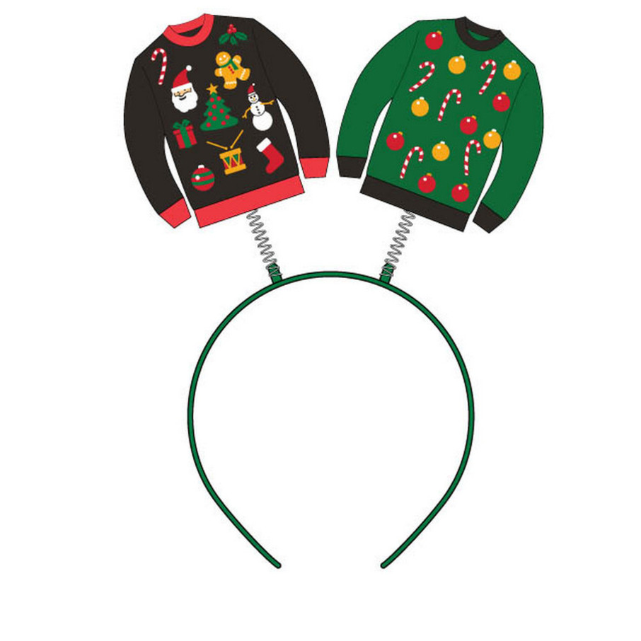 View larger image of Ugly Sweater Headband Boppers (1)