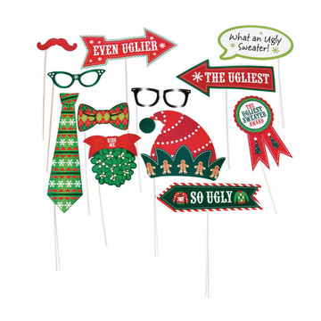 Ugly Sweater Photo Stick Props (12)