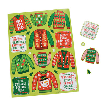 Ugly Sweater Stickers (12)