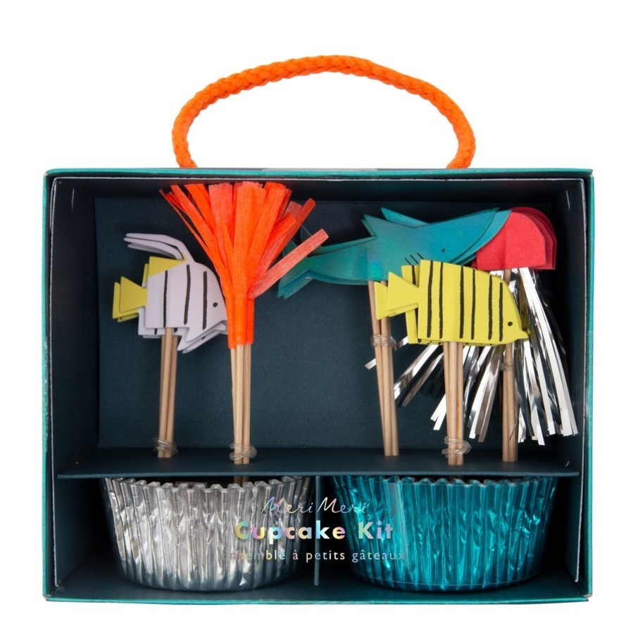 View larger image of Under The Sea Cupcake Kit, 24ct