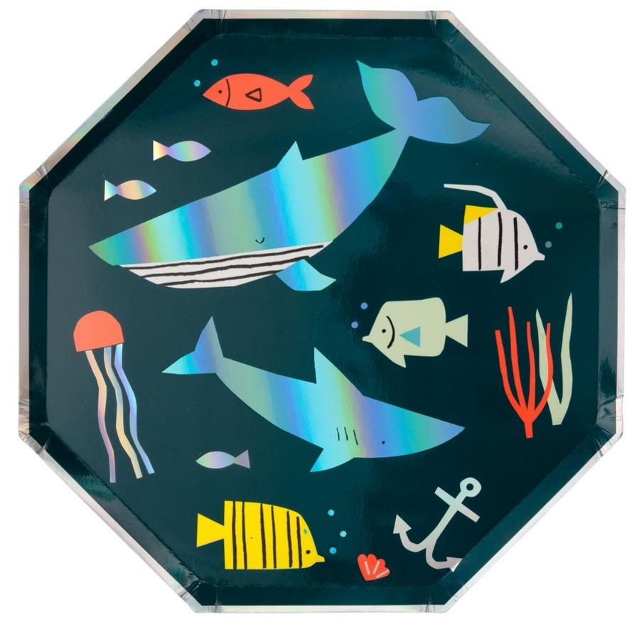 View larger image of Under The Sea Lunch Plates, 8ct