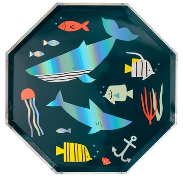 Under The Sea Lunch Plates, 8ct