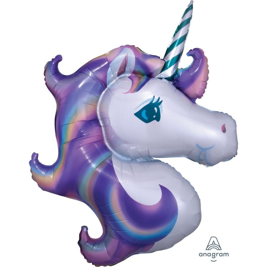 View larger image of Unicorn 33 Jumbo Shaped Foil Balloon