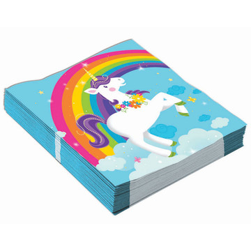 Unicorn Beverage Napkins (16)