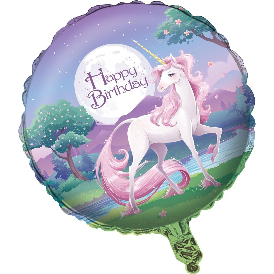 """View larger image of Unicorn Fantasy 18"""" Balloon (Each)"""