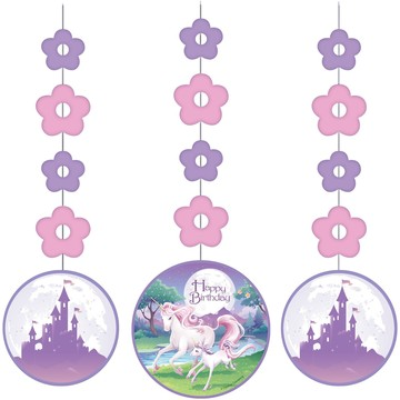 "Unicorn Fantasy 36"" Hanging Decorations (3 Pack)"