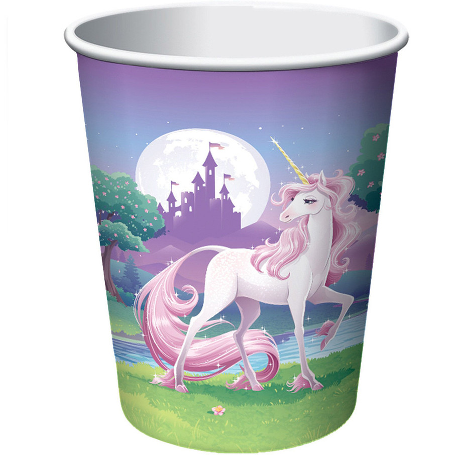 View larger image of Unicorn Fantasy 9oz Cups (8 Pack)