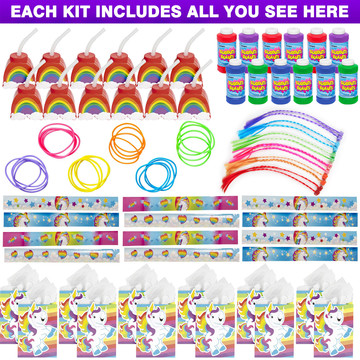 Unicorn Favor Kit (For 12 Guests)