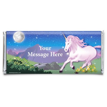 Unicorn Fun Personalized Candy Bar Wrapper (Each)