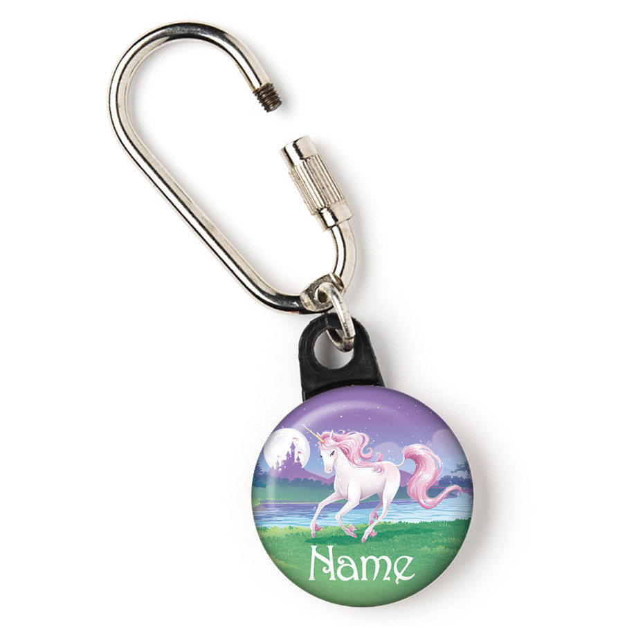 """View larger image of Unicorn Personalized 1"""" Carabiner (Each)"""