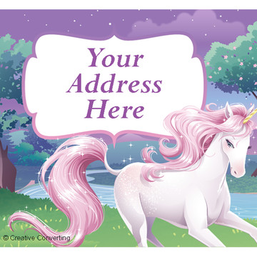 Unicorn Personalized Address Labels (Sheet of 15)