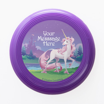 Unicorn Personalized Mini Discs (Set of 12)