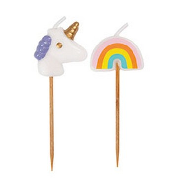 Unicorn & Rainbow Cake Picks