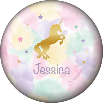 Unicorn Sparkle Personalized Mini Magnet (Each)