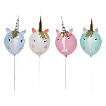 Unicorns Balloon Kit (Makes 4 characters)