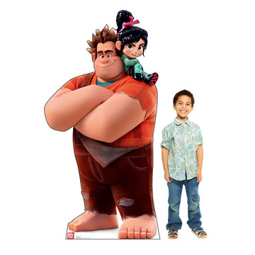 Vanellope and Ralph (Wreck It Ralph 2) Cardboard Standee