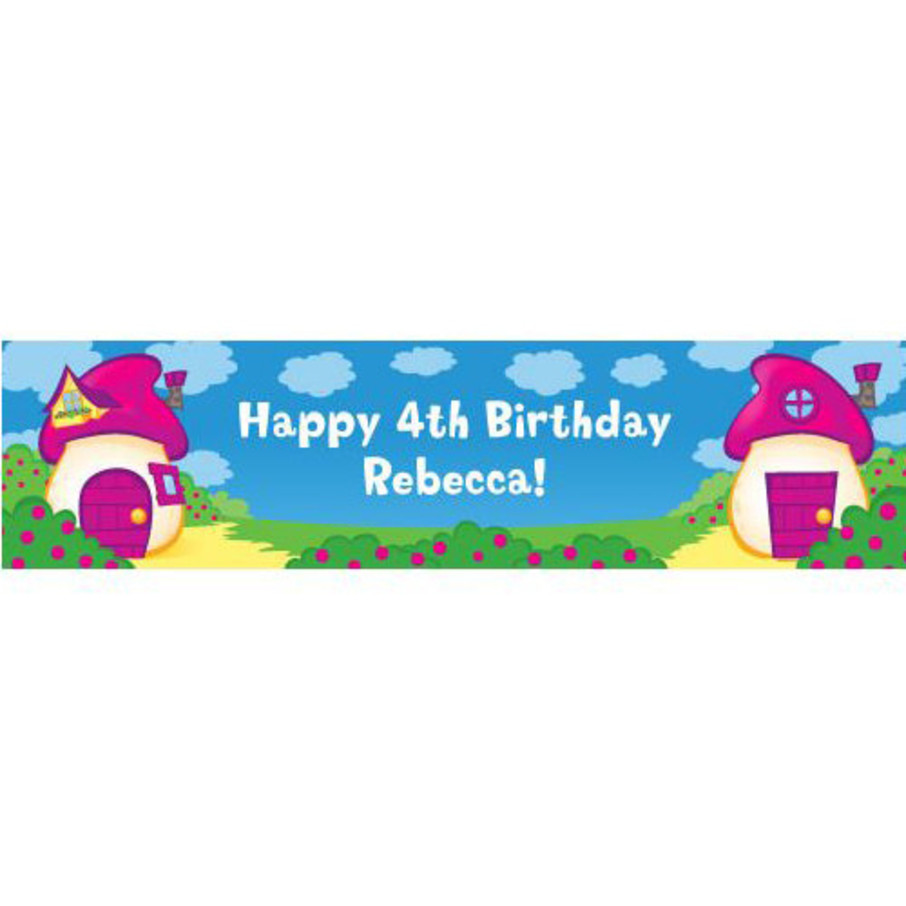View larger image of Village Friends Personalized Banner (each)