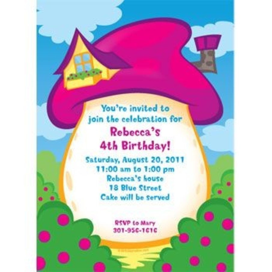 View larger image of Village Friends Personalized Invitation (each)