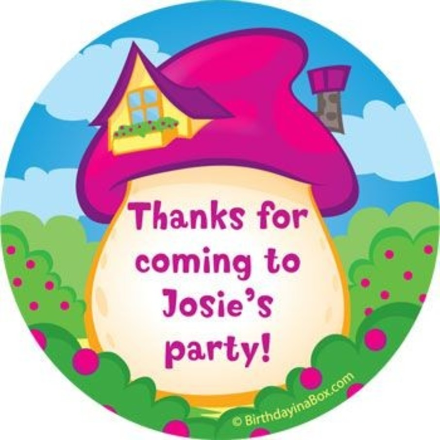View larger image of Village Friends Personalized Stickers (sheet of 12)