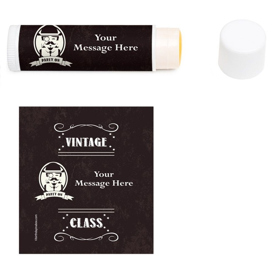 View larger image of Vintage Dude Personalized Lip Balm (12 Pack)