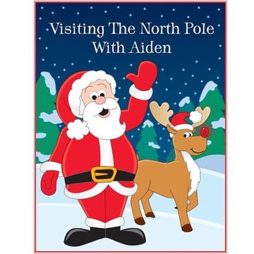 Visting The Northpole Personalized Color