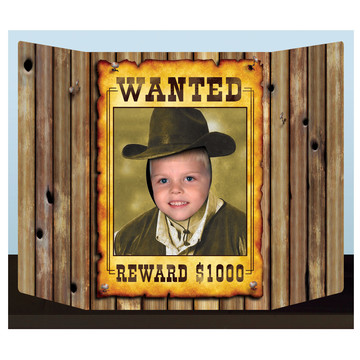 Wanted Poster Photo Prop