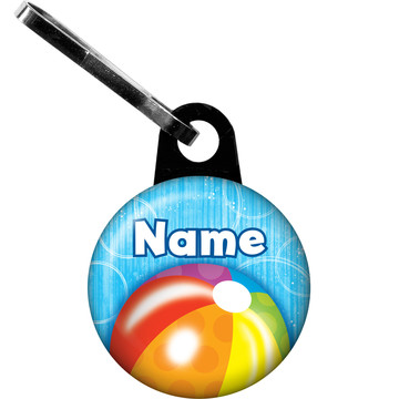 Water Fun Personalized Zipper Pull (Each)