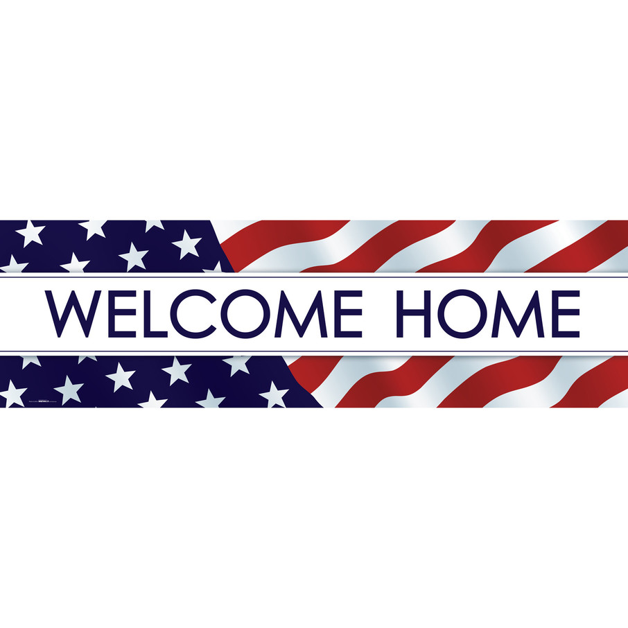 View larger image of Welcome Home Banner (STD)