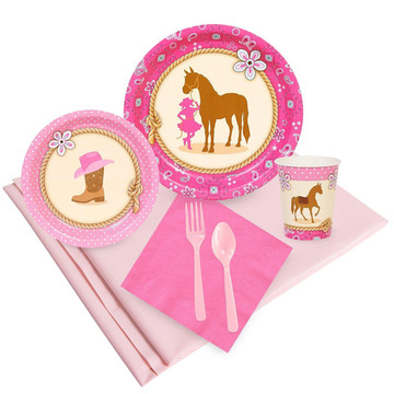Western Cowgirl Party Pack (24)