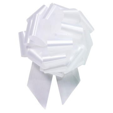 "White 8"" Pull Bow (10 Count)"