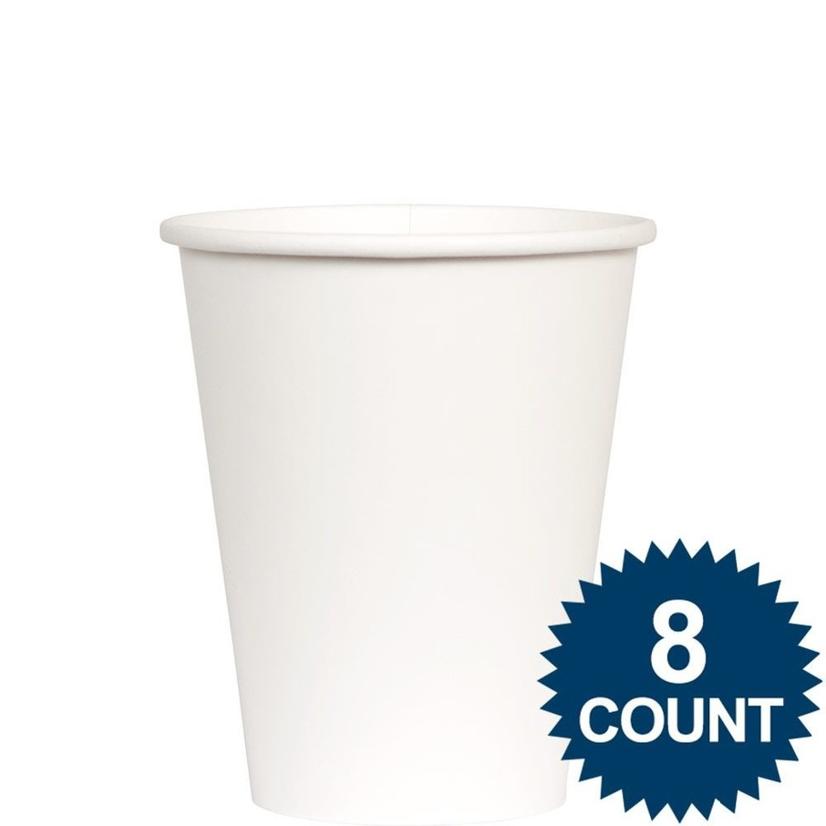 View larger image of White 9 oz. Paper Cup, 8ct.