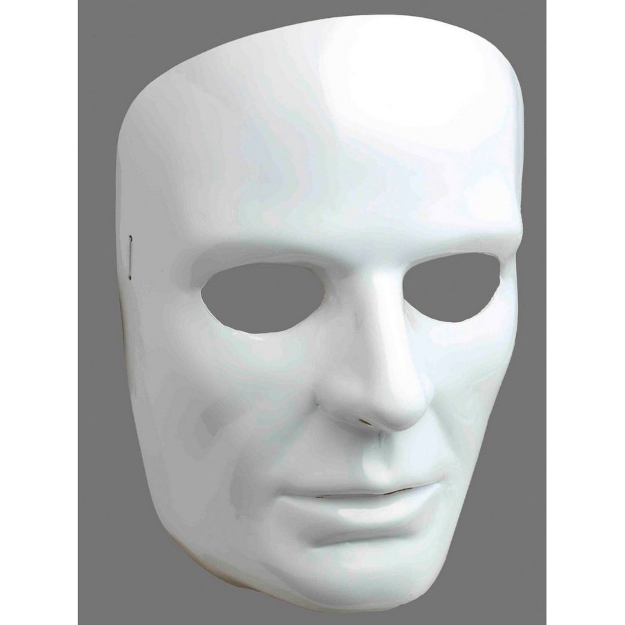 View larger image of White Face Mask-male